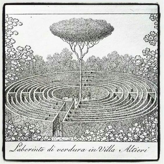 labyrinth and tree of life?